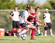 OC Women's Soccer vs Baker Univ - 8/28/2010