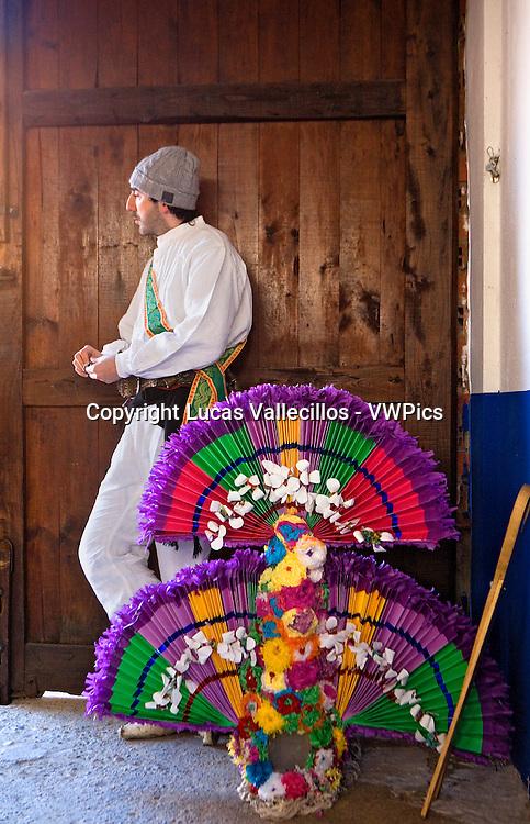 Antruejo (Carnival).Guirrio. Llamas de la Ribera. León. Castilla y León. Spain