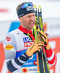 24.02.2019, Seefeld, AUT, FIS Weltmeisterschaften Ski Nordisch, Seefeld 2019, Nordischen Kombination, Teambewerb, Langlauf, im Bild Bernhard Gruber (AUT) // Bernhard Gruber of Austria during the cross country for the team competition Nordic Combined of FIS Nordic Ski World Championships 2019. Seefeld, Austria on 2019/02/24. EXPA Pictures © 2019, PhotoCredit: EXPA/ Stefan Adelsberger