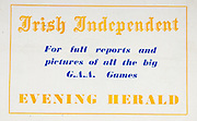 All Ireland Senior Hurling Championship Final,.01.09.1957, 09.01.1957, 1st September 1957,.Minor Kilkenny v Tipperary, .Senior Kilkenny v Waterford, Kilkenny 4-10.Waterford 3-12,..Advertisement, Irish Independent, Evening Herald,