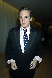 HARRY BECHER at a party to celebrate the launch of the Suka restaurant at the Sanderson Hotel, berners Street, London on 15th March 2007.<br />