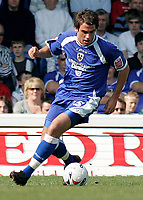 Photo: Mike Greenslade..Cardiff City v Sheffield Wednesday..Coca Cola Championship League..07.04.07..Ninian Park..KO 3pm...Cardiff's Simon Walton