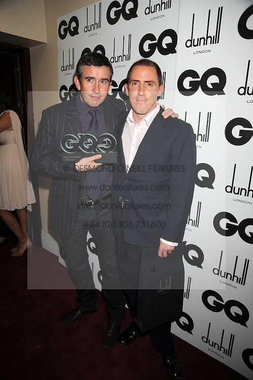 Left to right, STEVE COOGAN and ROB BRYDON at the GQ Men of the Year Awards held at the Royal Opera House, London on 2nd September 2008.<br /> <br /> NON EXCLUSIVE - WORLD RIGHTS