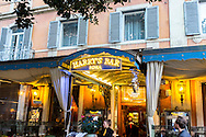Harry's Bar in Rome which was featured in director Federico Fellini's classic 1960 film La Dolce Vita.