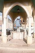 Israel , Jaffa. The Mahmoudiya Mosque ablutions fountain