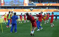 FUDBAL, PRETORIJA, 12. Jun. 2010. - Trening reprezentacije Srbije na Loftus Versfeld stadionu u Preotriji pred utakmicu protiv Gane koja se igra u okviru 1. kola D grupe Svetskog prvenstva. Foto: Nenad Negovanovic