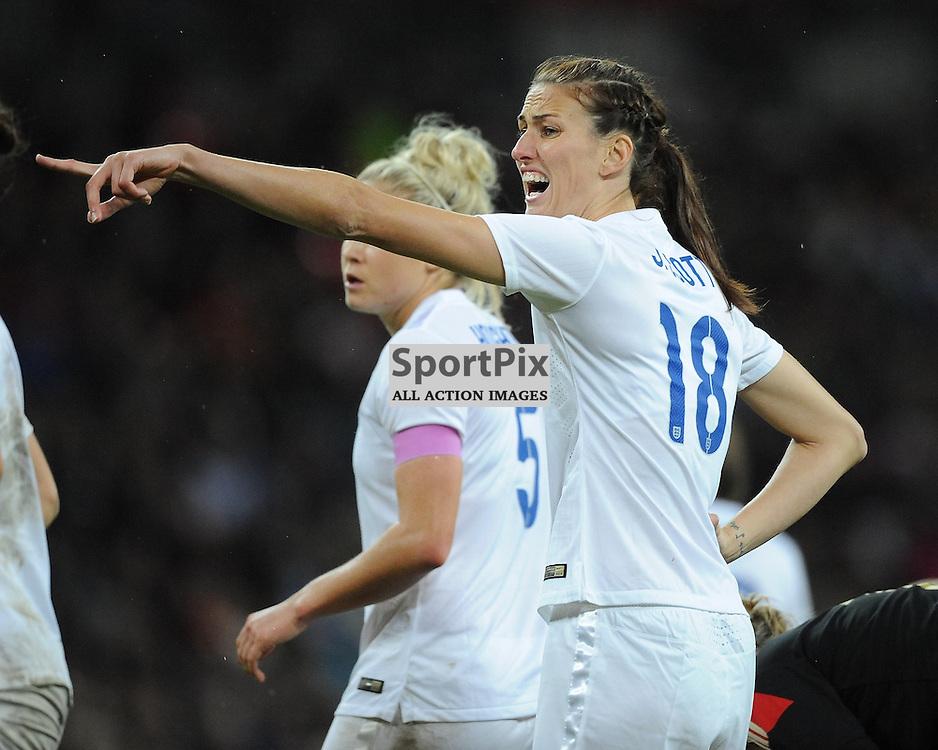 Jill Scott, England, England v Germany Ladies, Breast Cancer Care International, Wembley , Sunday 23rd November 2014