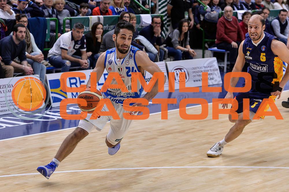 DESCRIZIONE : Beko Legabasket Serie A 2015- 2016 Dinamo Banco di Sardegna Sassari - Manital Auxilium Torino<br /> GIOCATORE : Rok Stipcevic<br /> CATEGORIA : Palleggio Penetrazione<br /> SQUADRA : Dinamo Banco di Sardegna Sassari<br /> EVENTO : Beko Legabasket Serie A 2015-2016<br /> GARA : Dinamo Banco di Sardegna Sassari - Manital Auxilium Torino<br /> DATA : 10/04/2016<br /> SPORT : Pallacanestro <br /> AUTORE : Agenzia Ciamillo-Castoria/L.Canu