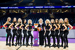 Cheerleaders Red Foxes prior to the Final basketball match between National Teams  Slovenia and Serbia at Day 18 of the FIBA EuroBasket 2017 at Sinan Erdem Dome in Istanbul, Turkey on September 17, 2017. Photo by Vid Ponikvar / Sportida