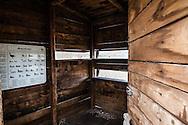 Oasi Pantano di Pignola, Basilicata, Italia, 27/02/2016<br /> Torretta di appostamento sul Lago Grande dell'Oasi WWF Pantano di Pignola, in Basilicata.<br /> <br /> Oasis Pantano Lake in Pignola, Basilicata, Italy, 27/02/2016<br /> Tower for birdwatching on the Great Lake inside the Pantano Lake in Pignola Oasis, in Basilicata