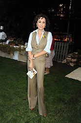 MARIE HELVIN at the Goring Hotel Summer party, Goring Hotel, 15 Beeston Place, London on 17th September 2008.