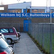 NLD/Almere/20121204 - SC Buitenboys in Almere waar afgelopen weekend een grensrechter Richard Nieuwenhuizen mishandeld werd door voetballers van voetbalvereniging Sloten waarna hij overleed,
