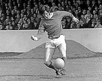 Billy Millen, footballer, Linfield FC, Belfast, N Ireland, August 1970. 1970080295BM2<br /> <br /> Copyright Image from Victor Patterson, 54 Dorchester Park, Belfast, UK, BT9 6RJ<br /> <br /> Tel: +44 28 9066 1296<br /> Mob: +44 7802 353836<br /> Voicemail +44 20 8816 7153<br /> Skype: victorpattersonbelfast<br /> Email: victor@victorpatterson.com<br /> Email: victorpatterson@me.com (back-up)<br /> <br /> IMPORTANT: If you wish to use this image or any other of my images please go to www.victorpatterson.com and click on the Terms & Conditions. Then contact me by email or phone with the reference number(s) of the image(s) concerned.