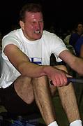 2004 British Indoor Rowing Championships. NIA. Birmingham. England. 21.11.2004.Race 17 M40-44 Antii Niskenen. Finnrowing [Mandatory Credit Peter Spurrier/ Intersport Images]