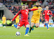 Wayne Rooney (19) of England scoring to make it 2-0 during the International Friendly match at the Stadium Of Light, Sunderland<br /> Picture by Simon Moore/Focus Images Ltd 07807 671782<br /> 27/05/2016