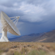 Radio Telescope - North Owens Valley - Lensbaby