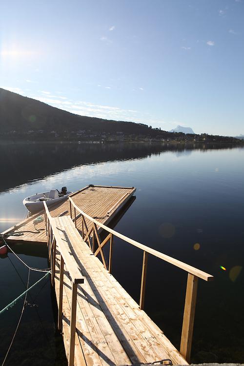 Bogen lake, Norway, Lapland
