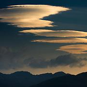Lenticulars over Glen Coe, Scotland