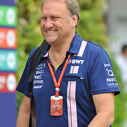 ROBERT FERNLEY, Deputy Team Principal<br /> Day 3 of the 2017 Formula 1 Singapore airlines, Singapore Grand Prix, held at The Marina Bay street circuit, Singapore on the 16th September 2017.<br /> Wayne Neal | SportPix.org.uk