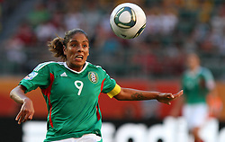 27-06-2011 VOETBAL: FIFA WOMENS WORLDCUP 2011 MEXICO - ENGLAND: WOLFSBURG<br />  Maribel Dominguez (MEX)<br /> ***NETHERLANDS ONLY***<br /> ©2011-FRH- NPH/Hessland