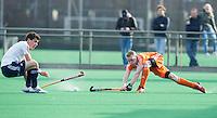 ROTTERDAM -  Jibbe Staps of the Neth.   Test Match Hockey : Netherlands Boys U18  v England U18 . COPYRIGHT KOEN SUYK