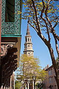 Historic St. Phillip's Church in Charleston, SC.
