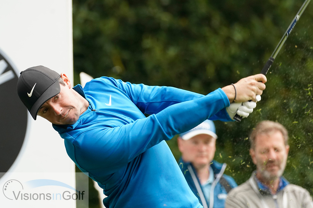 Rory McIlroy<br /> On the first day