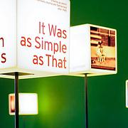 Jewish museum berlin light cubes, Berlin, Germany (June 2007)