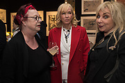 JO BRAND, SALLY GREENE, HELEN LEDERER, Preview evening  in support of The Eve Appeal, a charity dedicated to protecting women from gynaecological cancers. Bonhams Knightsbridge, Montpelier St. London. 29 April 2019