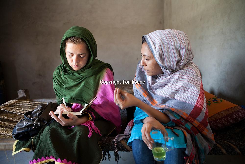 Natalie Righton was drie jaar correspondent in Afghanistan voor de Volkskrant.