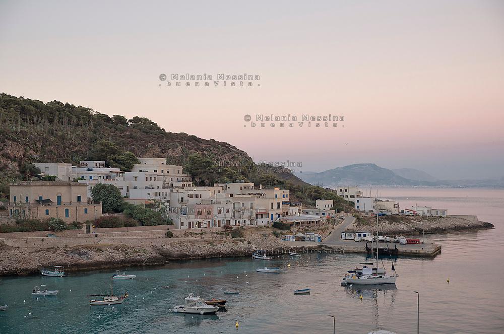 Sunset in Levanzo, one of Egadi islands in Sicily.Tramonto a Levanzo nelle isole Egadi in Sicilia.