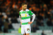 Yeovil Town's Jack Compton during the The FA Cup Third Round Replay match between Yeovil Town and Carlisle United at Huish Park, Yeovil, England on 19 January 2016. Photo by Graham Hunt.