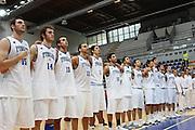 DESCRIZIONE : Roseto Degli Abruzzi Giochi del Mediterraneo 2009 Mediterranean Games Turchia Italia Turkey Italy Final Men<br /> GIOCATORE : team<br /> SQUADRA : Italia Italy<br /> EVENTO : Roseto Degli Abruzzi Giochi del Mediterraneo 2009<br /> GARA : Turchia Italia Turkey Italy <br /> DATA : 04/07/2009<br /> CATEGORIA : team<br /> SPORT : Pallacanestro<br /> AUTORE : Agenzia Ciamillo-Castoria/C.De Massis<br /> Galleria : Giochi del Mediterraneo 2009<br /> Fotonotizia : Roseto Degli Abruzzi Giochi del Mediterraneo 2009 Mediterranean Games Turchia Italia Turkey Italy Final Men <br /> Predefinita :