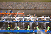 Oklahoma, USA,   Sat evening corporate racing.  The Oklahoma River, Oklahoma City,  Sat. 13/10/2007 [Mandatory Credit. Peter Spurrier/Intersport Images]..... , Rowing Course: Oklahoma River, Oklahoma City, Oklahoma, USA