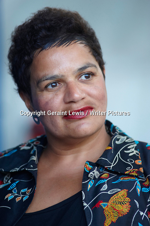 Jackie Kay, Scottish poet and novelist, at the 2010 Edinburgh International Book Festival, August 25, 2010. <br /> Copyright Geraint Lewis / Writer Pictures<br /> Contact +44 (0)20 822 41564<br /> info@writerpictures.com<br /> www.writerpictures.com