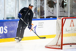 Anze Kopitar during practice at Hockey Academy of Anze Kopitar and Tomaz Razingar, on July 4, 2018 in Ice Hockey arena Bled, Slovenia. Photo by Vid Ponikvar / Sportida