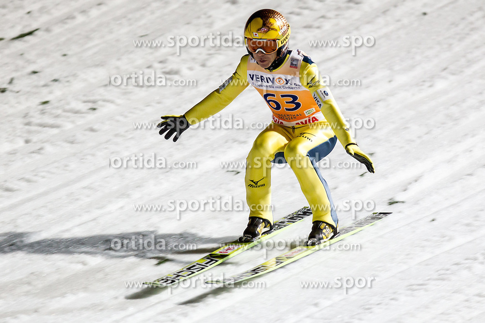 21.11.2014, Vogtland Arena, Klingenthal, GER, FIS Weltcup Ski Sprung, Klingenthal, Herren, HS 140, Qualifikation, im Bild NORIAKI KASAI // during the mens HS 140 qualification of FIS Ski jumping World Cup at the Vogtland Arena in Klingenthal, Germany on 2014/11/21. EXPA Pictures &copy; 2014, PhotoCredit: EXPA/ Newspix/ Katarzyna Plewczynska<br /> <br /> *****ATTENTION - for AUT, SLO, CRO, SRB, BIH, MAZ, TUR, SUI, SWE only*****