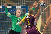 Thierry Omeyer / Nicolas Claire - 26.04.2015 - Handball - Nantes / Paris Saint Germain - Finale Coupe de France-  <br /> Photo : Andre Ferreira / Icon Sport