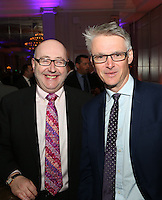 The Football Extravaganza celebrating 20 years of the Premier League, in aid of Nordoff Robbins. From left , Peter McCormick OBE & Nic Coward..Wednesday, April.11, 2012 (Photo/John Marshall JME)
