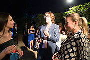 GOODY BAGS, Serpentine's Summer party co-hosted with Christopher Kane. 15th Serpentine Pavilion designed by Spanish architects Selgascano. Kensington Gardens. London. 2 July 2015.