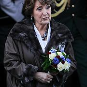 NLD/Haarlem/20130205 - H.K.H. Prinses Margriet opent tentoonstelling Hollandse Meesters in het Teylers Museum, prinses Margriet