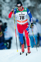 30.11.2014, Nordic Arena, Ruka, FIN, FIS Weltcup Langlauf, Kuusamo, 15 km Herren, im Bild Lukas Bauer (CZE) // Lukas Bauer of Cuech Republic during Mens 15 km Cross Country Race of FIS Nordic Combined World Cup at the Nordic Arena in Ruka, Finland on 2014/11/30. EXPA Pictures © 2014, PhotoCredit: EXPA/ JFK