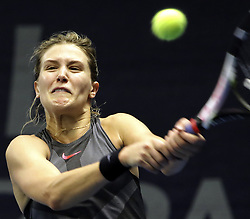 October 17, 2017 - Luxembourg, Luxembourg - Luxembourg - BGL BNP PARIBAS LUXEMBOURG OPEN 2017- 14/10 - 21/10/2017 -  Canadian player Eugenie Bouchard (Credit Image: © Panoramic via ZUMA Press)
