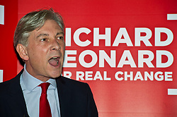 Pictured: Richard Leonard MSP<br /> <br /> The Scottish Labour leadership candidate Richard Leonard visited the Serenity Cafe today tol deliver a keynote speech ahead of the ballots going out.<br /> <br /> Ger Harley   EEm 24 October 2017