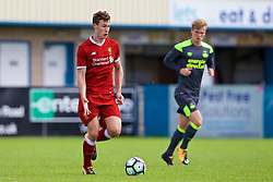 NUNEATON, ENGLAND - Sunday, July 30, 2017: Liverpool's captain Matthew Virtue during a pre-season friendly between Liverpool and PSV Eindhoven at the Liberty Way Stadium. (Pic by Paul Greenwood/Propaganda)