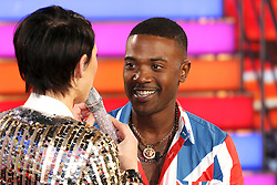 © Licensed to London News Pictures. 03/01/2017. London, UK, Ray J Norwood, Celebrity Big Brother: WInter 2017 - Live Launch Show, Photo credit: Brett Cove/LNP
