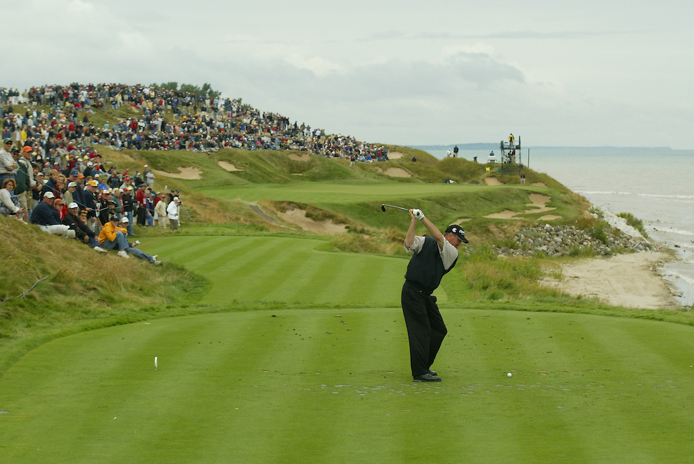 Jerry Kelly..2004 PGA Championship.Second Round.Whistling Straits.Haven, WI.Friday, August 13 2004..photograph by Darren Carroll