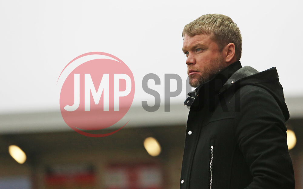 Peterborough United Manager Grant McCann - Mandatory by-line: Joe Dent/JMP - 17/12/2017 - FOOTBALL - Highbury Stadium - Fleetwood, England - Fleetwood Town v Peterborough United - Sky Bet League One