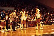 Qualificazioni Mondiali, Durazzo, 28 novembre 1984 Italia - Albania<br /> marzorati, solfrini