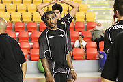 DESCRIZIONE : Roma Lega Basket A 2012-13  Raduno Virtus Roma<br /> GIOCATORE : Bobby Jones<br /> CATEGORIA : curiosita fair play<br /> SQUADRA : Virtus Roma <br /> EVENTO : Campionato Lega A 2012-2013 <br /> GARA :  Raduno Virtus Roma<br /> DATA : 23/08/2012<br /> SPORT : Pallacanestro  <br /> AUTORE : Agenzia Ciamillo-Castoria/M.Simoni<br /> Galleria : Lega Basket A 2012-2013  <br /> Fotonotizia : Roma Lega Basket A 2012-13  Raduno Virtus Roma<br /> Predefinita :